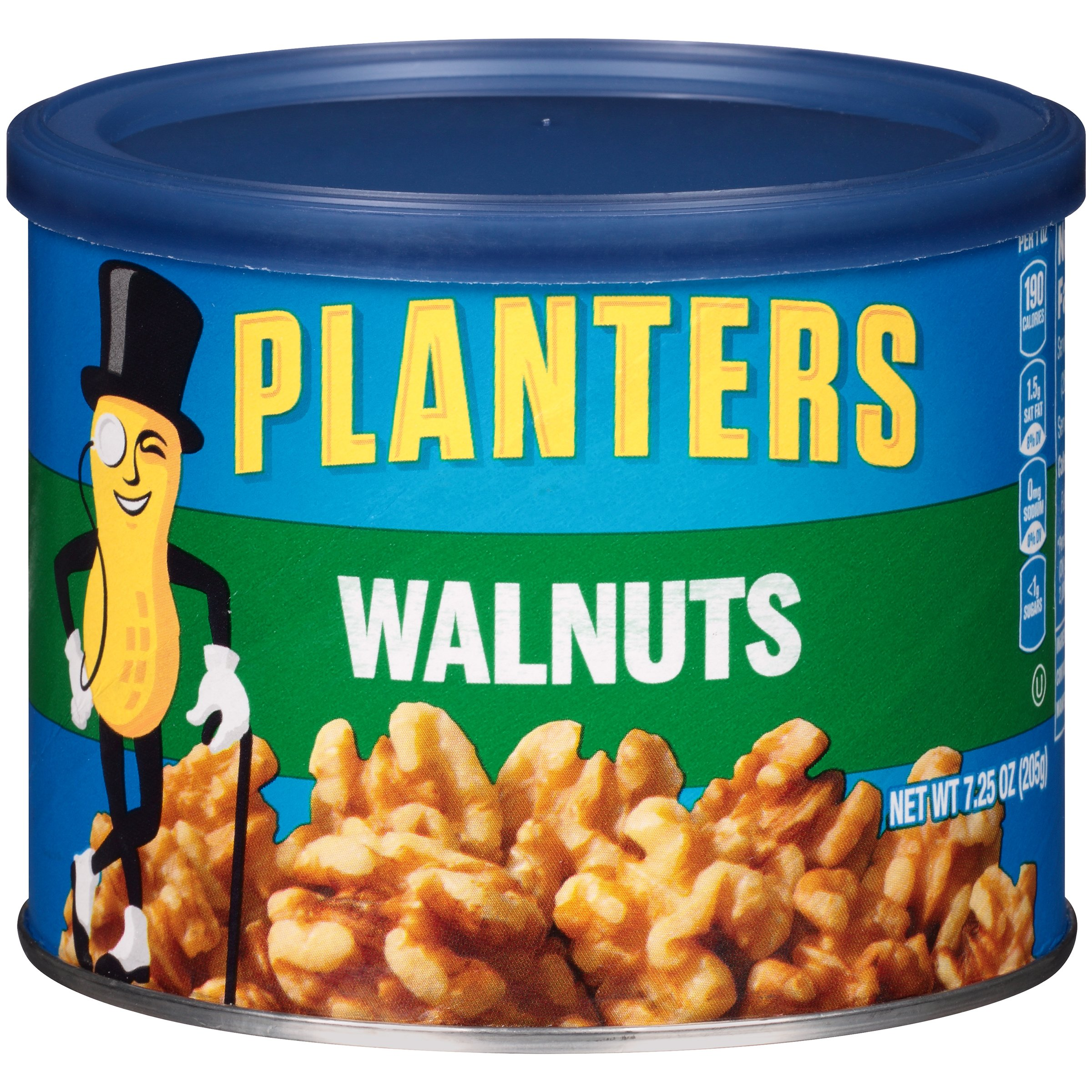 Planters Walnuts 7.25 oz. Canister