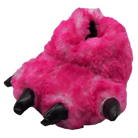 f21380579247 NORTY - Norty Grizzly Bear Stuffed Animal Claw Slippers - Plush Paw Slippers  - Furry Fuzzy Soft Plush Animal Slippers - Toddlers Kids Mens and Womens  Adults ...