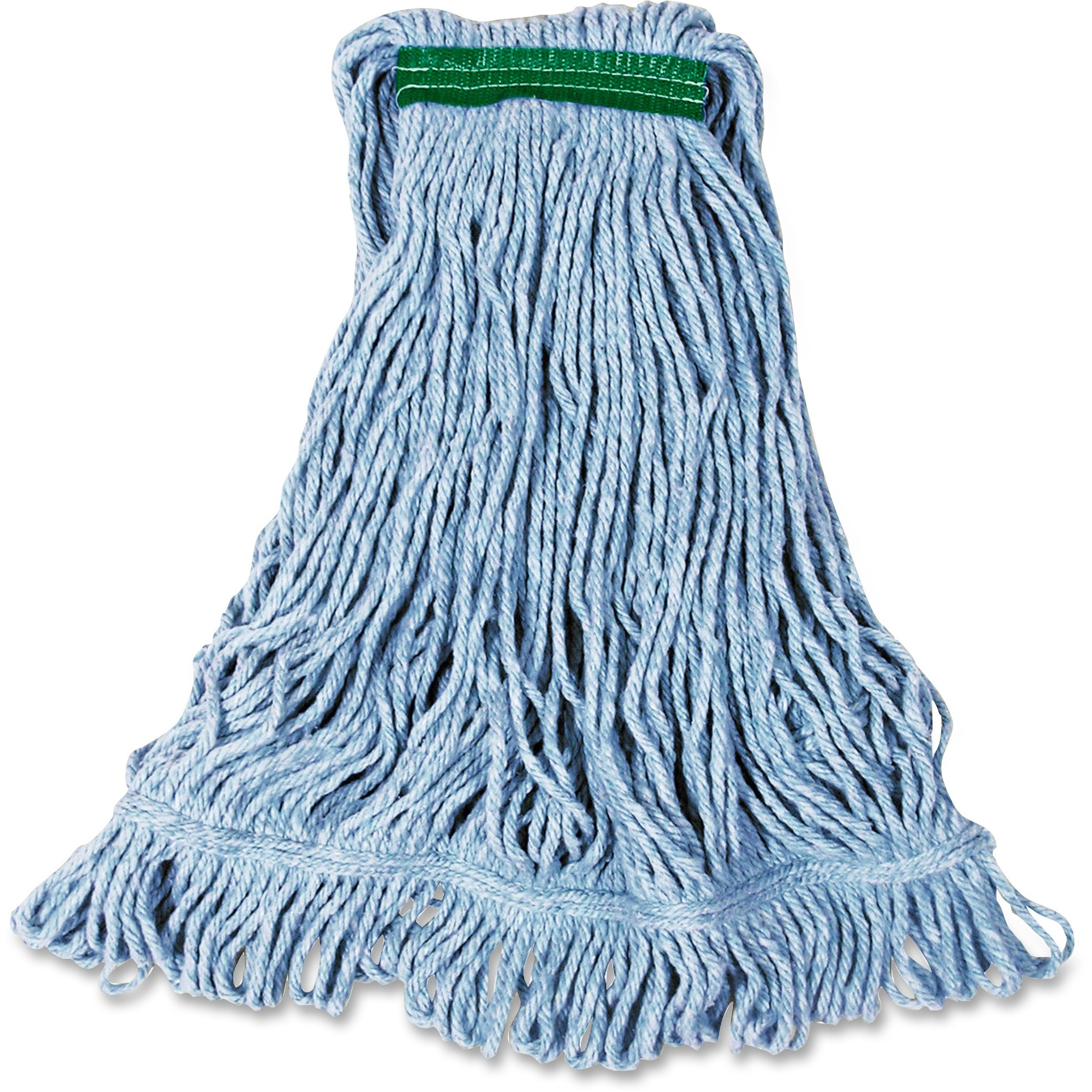 Rubbermaid Commercial, RCPD21206BE, Super Stitch Medium Blend Mop, 1 Each, Green