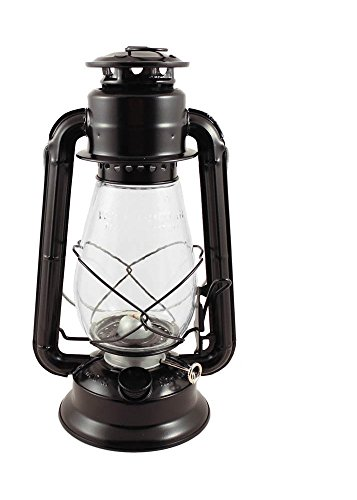 """Hurricane Lantern Oil Lamp 10"""" with Care Pack (Maroon) by IOTC"""