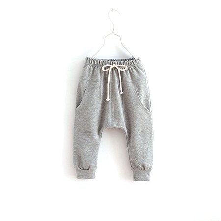 Kacakid Unisex Kid Toddler Cotton Jersey Harem Pants Baby Elastic Trousers - Aladdin Harem Girls