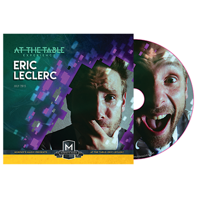 At the Table Live Lecture Eric Leclerc - DVD