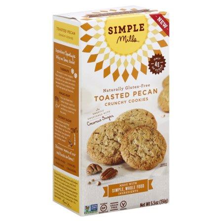 Simple Mills Crunchy Toasted Pecan Cookies, 5.5 - Simple Halloween Cookies