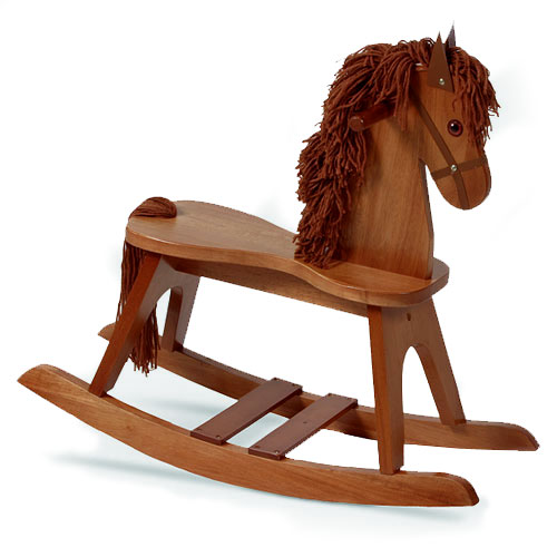 Storkcraft Rocking Horse, Cognac