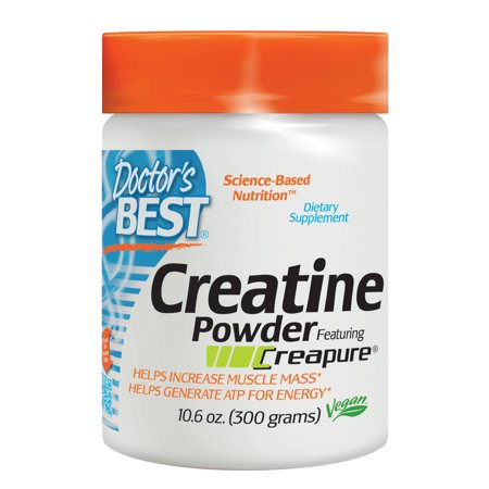 Doctor's Best Creatine Powder Non-GMO, Vegan, Gluten Free, 300