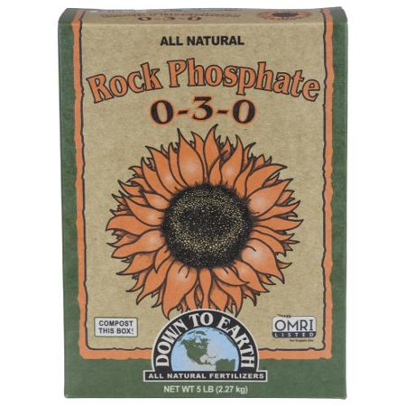 Down To Earth Rock Phosphate 5 lb (6/Cs)
