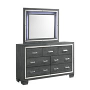 Picket House Furnishings Kenzie 7 Drawer Dresser W Mirror Set