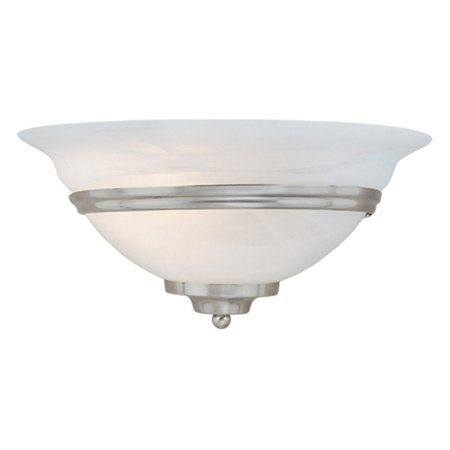 Vaxcel Da Vinci Wall Sconce - 12W in. Brushed -