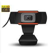 12M pixels HD 1080P optical lens Webcam Computer PC WebCam with Mic Rotatable Camera for live Video Calling Conference Work