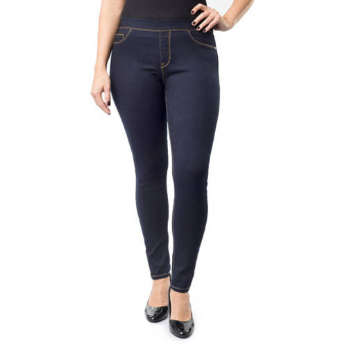 Jordache Women's Plus-Size Pull-On Jeggings - Walmart.com