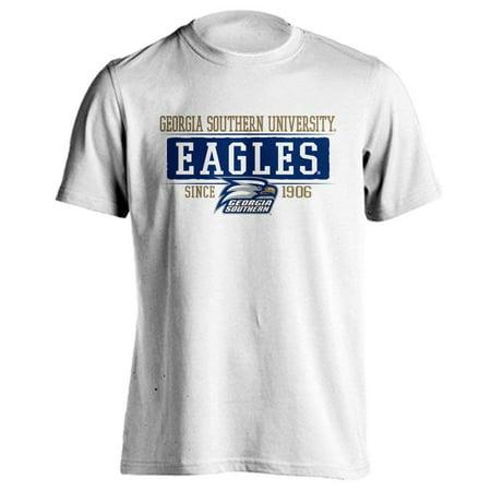 Georgia Southern University Eagles GSU Bar Mascot Since 1906 Short Sleeve T-Shirt