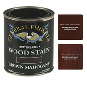 General Finishes Water Based Wood Brown Mahogany Stain, Pint
