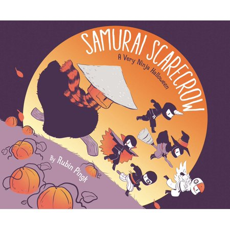 Samurai Scarecrow: A Very Ninja Halloween (Hardcover) - Scarecrow Halloween Coloring Pages