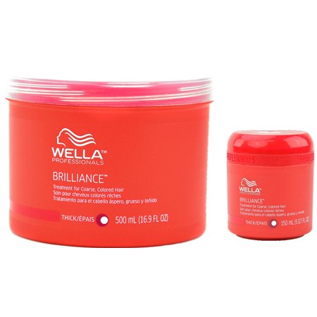 Brillance Treatment, For Coarse Colored Hair By Wella - 5.07 Oz (Wella Balance Treatment For Sensitive Scalp Review)