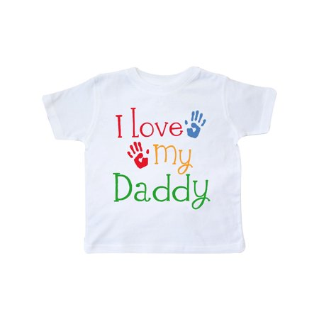 918acbaf Inktastic - I Love My Daddy Toddler T-Shirt - Walmart.com