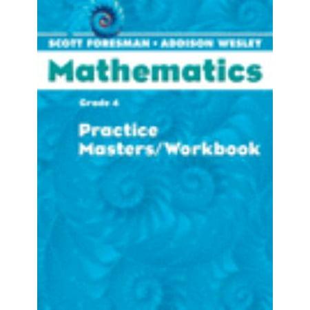 Scott Foresman Math 2004 Practice Masters/Workbook Grade