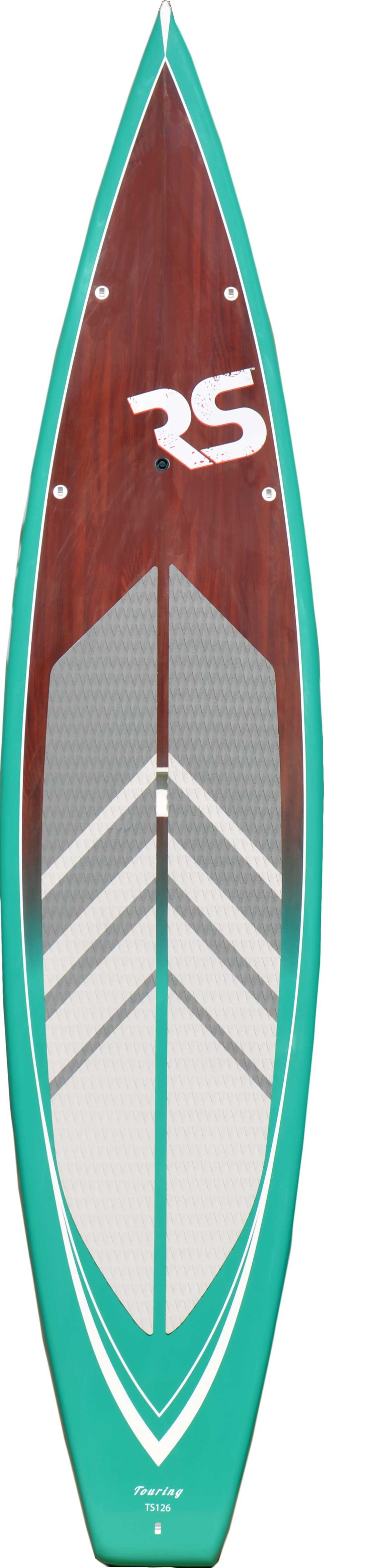 "Rave Sports 02701 Touring 12'6"" Fiberglass Emerald Stand Up Paddle Board by Overstock"