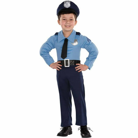 Police Officer Toddler Halloween - Police Officer Halloween Costumes