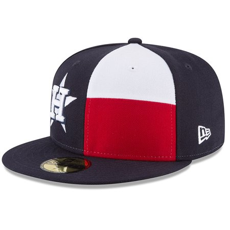 Houston Astros New Era 2017 World Series Champs State Flag 59FIFTY Fitted Hat - Navy