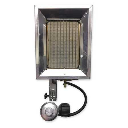 RE-VERBER-RAY 16000 BtuH Tank Top Portable Gas Heater, LP, P-16T