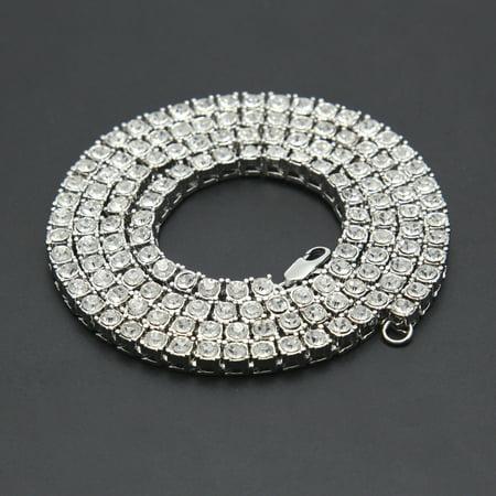 CARLTON GLOBAL Hip Hop Men Bracelet Series Rhinestone Bracelet Chain Bling Crystal -