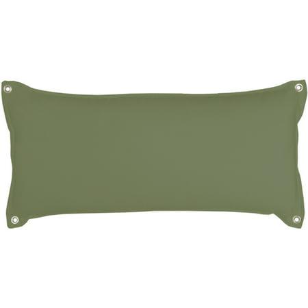 Pawleys Island Leaf Chambray Traditional Hammock Pillow ()