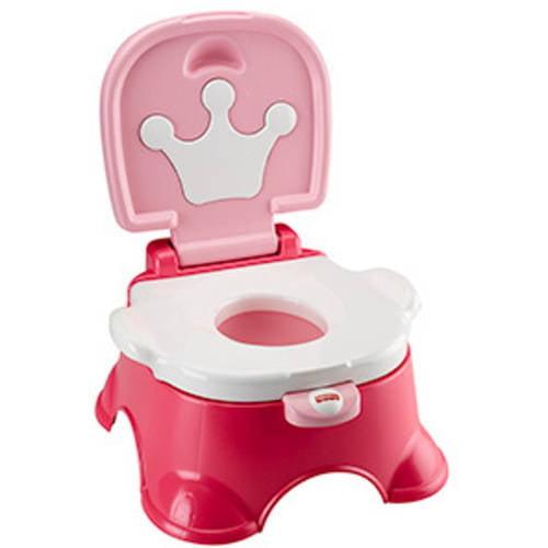 Fisher Price Pink Princess Stepstool Potty