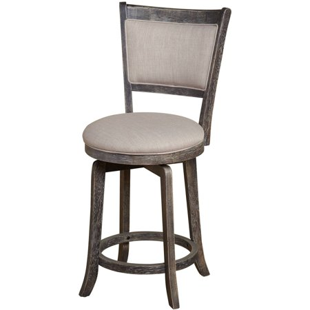 French Country Swivel Counter Height Stool ()