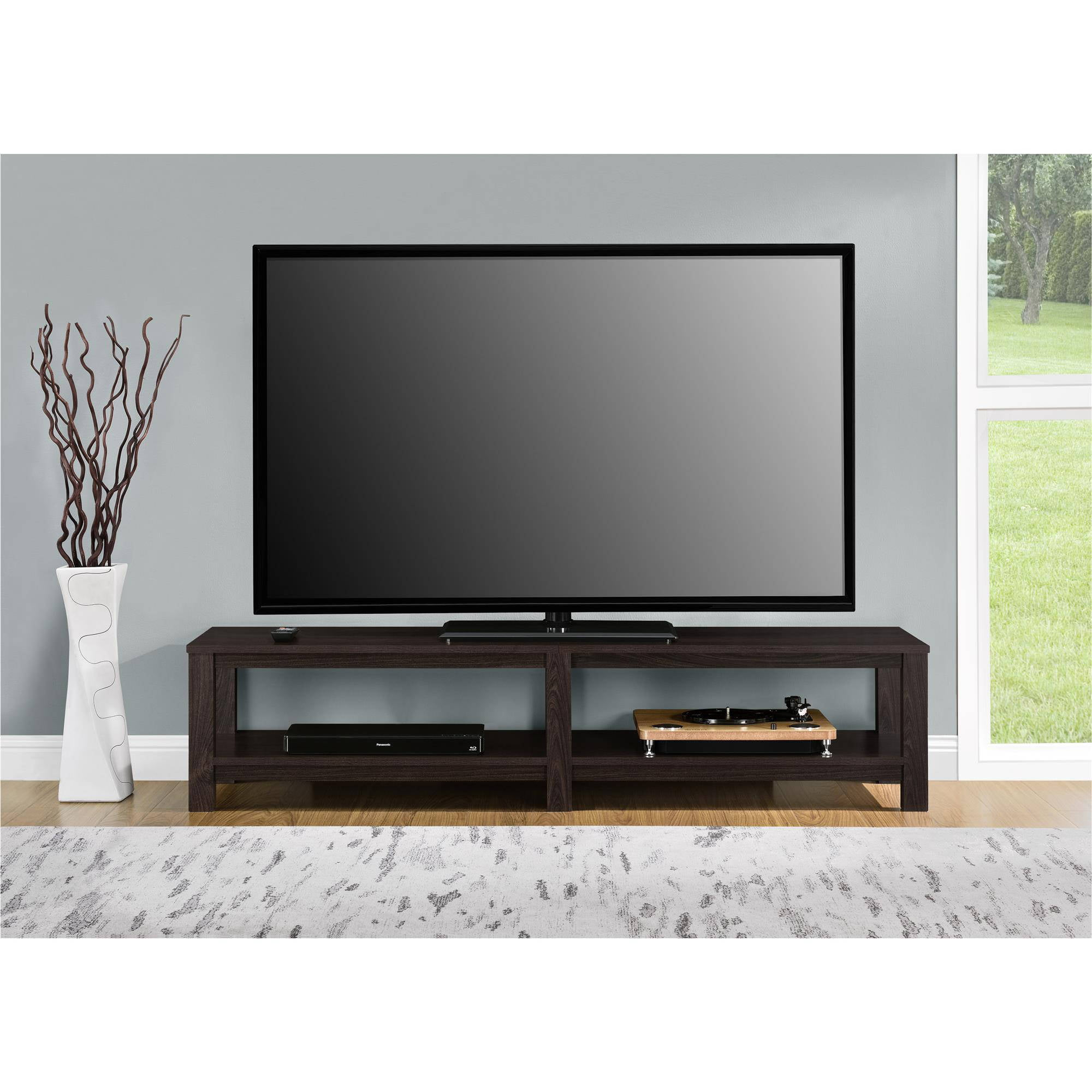 Beau TV Stand 65 Inch Flat Screen Entertainment Media Home Center Console Table  Mount