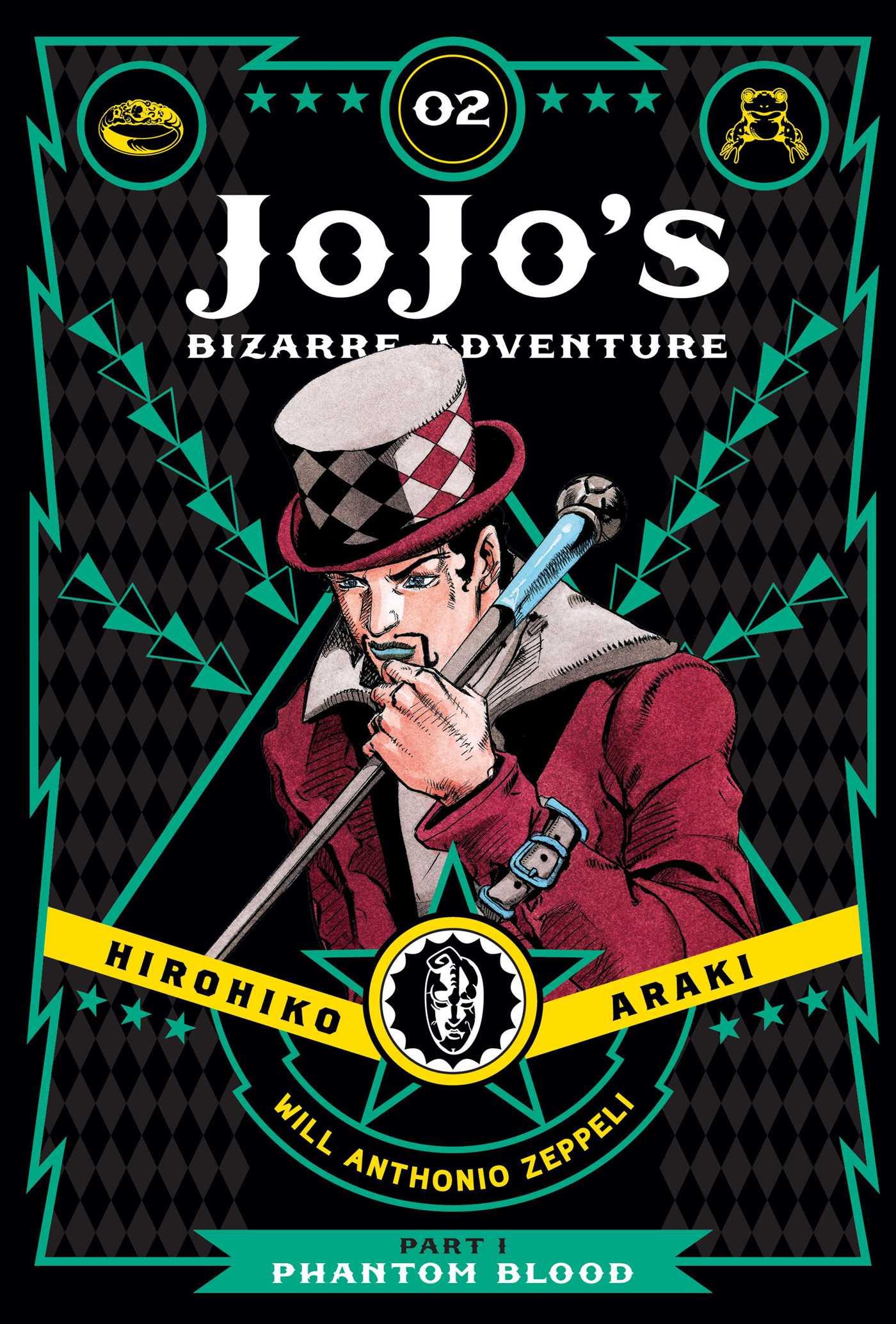 JoJo\'s Bizarre Adventure: Part 1--Phantom Blood, Vol. 2