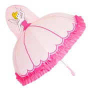 3D Pop-Up Pink Princess Cute Umbrella