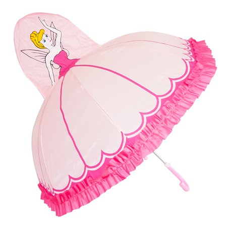 (Kiddi Choice 3D Pop-Up Pink Princess Cute Umbrella)