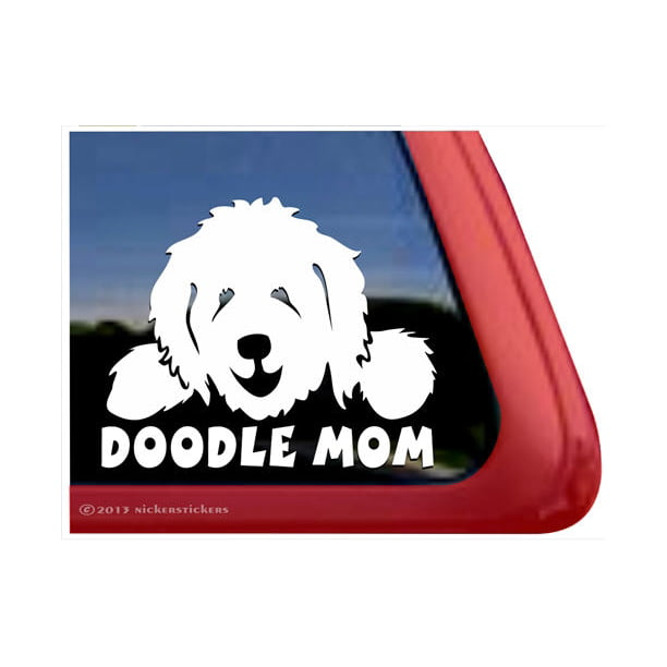 Paw Print Dog Decal Car Window Vinyl