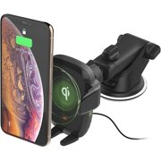 iOttie Auto Sense Qi Charging Automatic Clamping Dashboard Phone Mount for iPhone, Samsung Galaxy, Huawei, LG