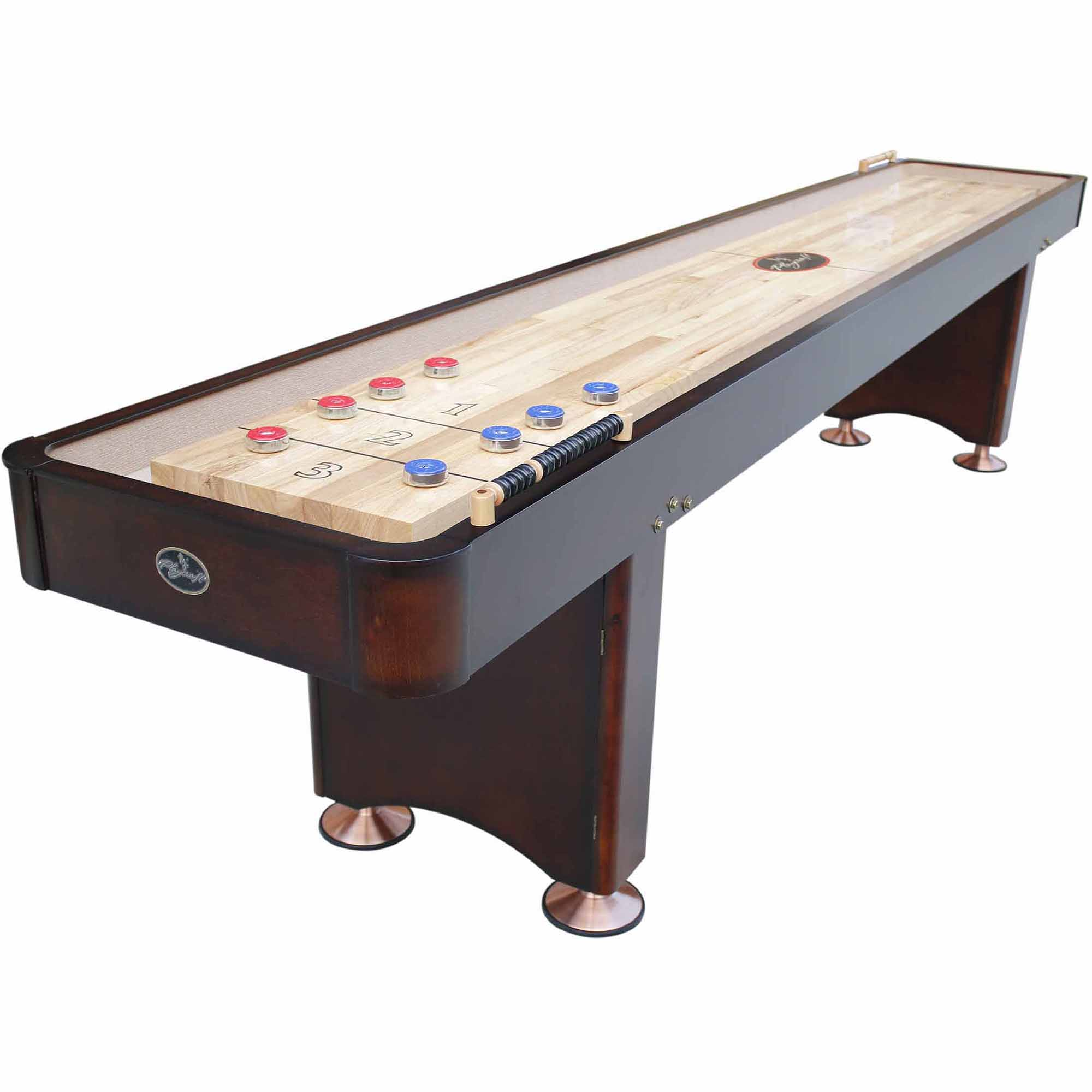 Playcraft Georgetown Espresso 12' Shuffleboard Table