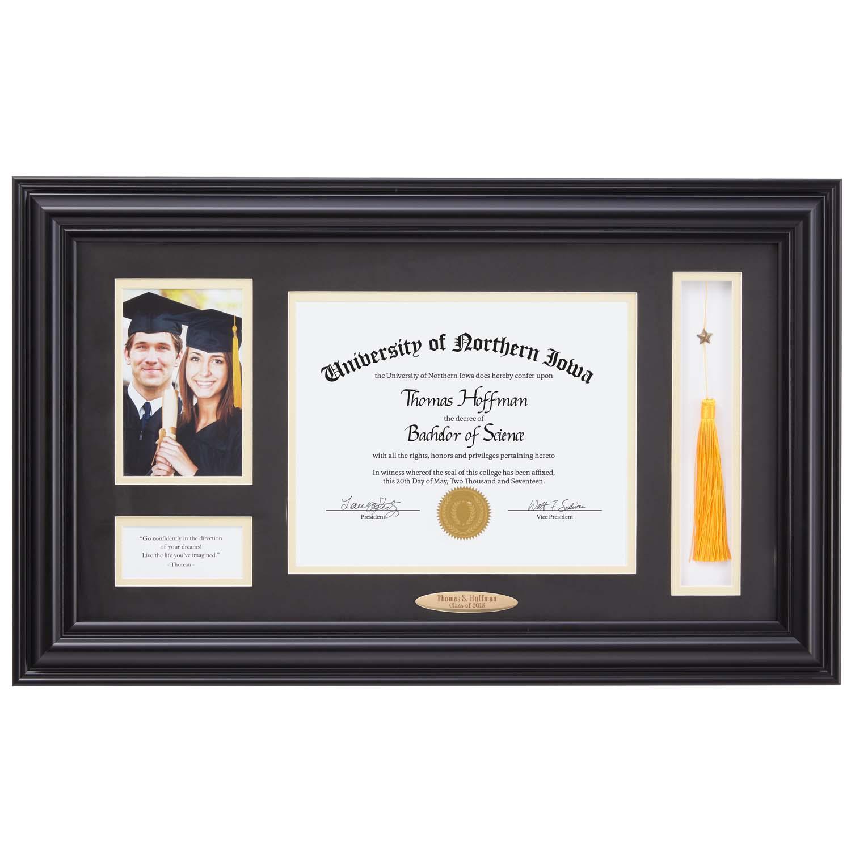 Personalized Diploma Tassel Frame
