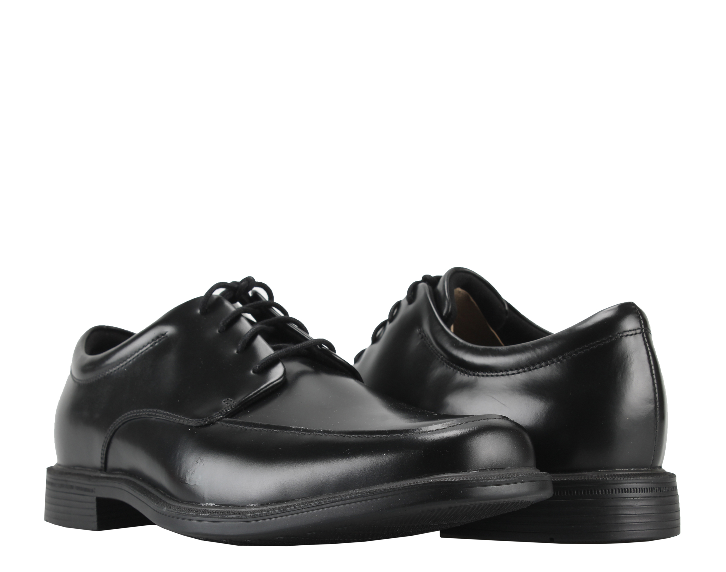 Rockport Evander Moc Toe Black Men's Dress Shoes K71057 by