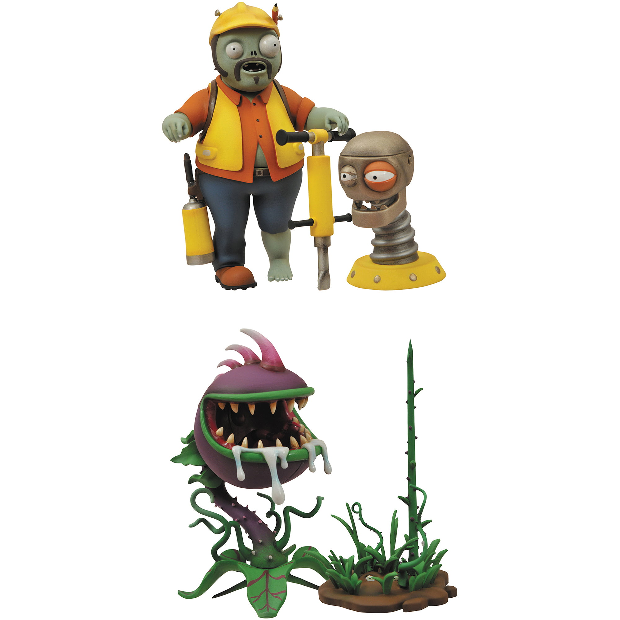 Plants vs. Zombies: Garden Warfare Engineer Zombie and Chomper ...