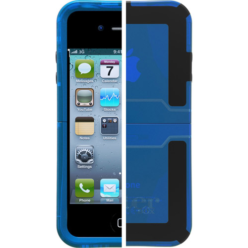 otterbox iphone 4s otterbox reflex for apple iphone 4 4s glacier blue 2642