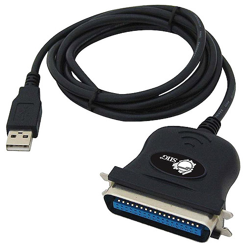 SIIG USB Parallel Printer Port