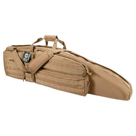 """Barska Optics Loaded Gear RX-400 48"""" Tactical Rifle Bag, Tan"""
