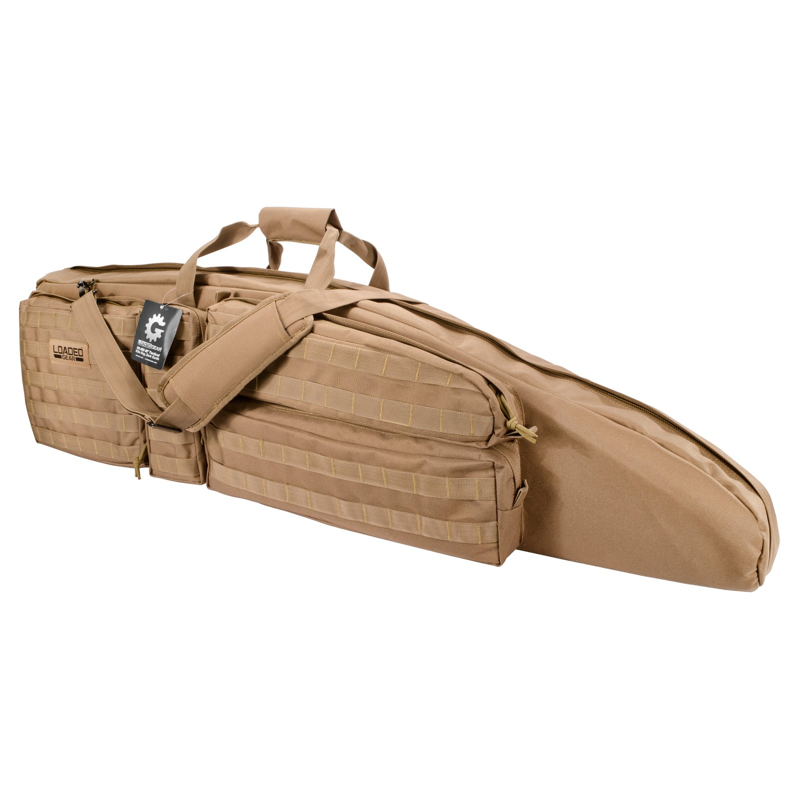 "Barska Optics Loaded Gear RX-400 48"" Tactical Rifle Bag, Tan"