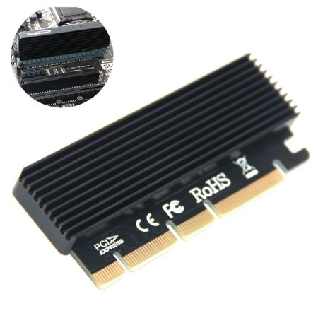 Computer Expansion Card Adapter Led Interface M.2 NVMe SSD NGFF To PCIE 3.0 (Best Sata Expansion Card)