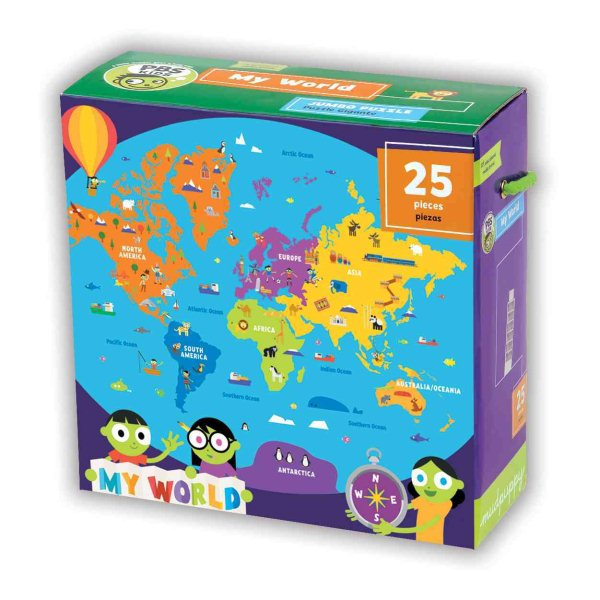Pbs Kids My World Jumbo Puzzle