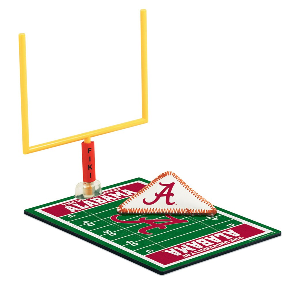 Alabama Crimson Tide Official NCAA 5 inch x 7 inch Finger Football Game by Wincraft by Wincraft