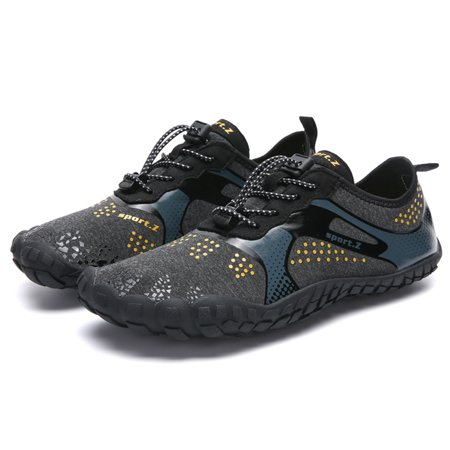Super Lightweight Aqua Shoes Breathable Beach Shoes Diving Surfing River Trekking Water Shoes Hiking Fitness Sports Shoes Men