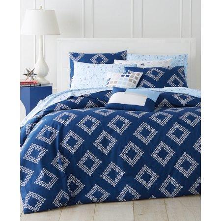 Martha Stewart Collection Diamond Coast 4-Pcs. Twin Combo Blue