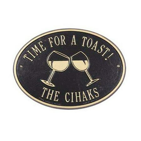 Whitehall Personalized Wine Lovers Plaque ()
