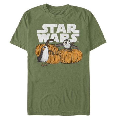 Cute Happy Halloween Logo (Star Wars The Last Jedi Men's Happy Halloween Porg Logo)