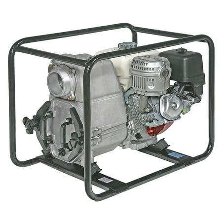 Tsurumi Ept3 100Ha 3 Inch 11 Hp Engine Driven Trash Pump With Low Oil Sensor